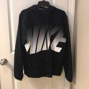 Nike men's zip up sweater